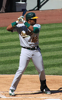 How important was Cespedes to The A's Lineup?  They went 82-47 with him in the lineup and 12-21 without him.  He was the biggest reason the team has soared into the playoff race and wont the AL East.  Beane secured him Free Agency last year without trading any prospects.  Cespedes clubbed 23 HRs.  So far in 2013, the team has gone 10 - 2 with the big Cuban and 4 - 8 without him.