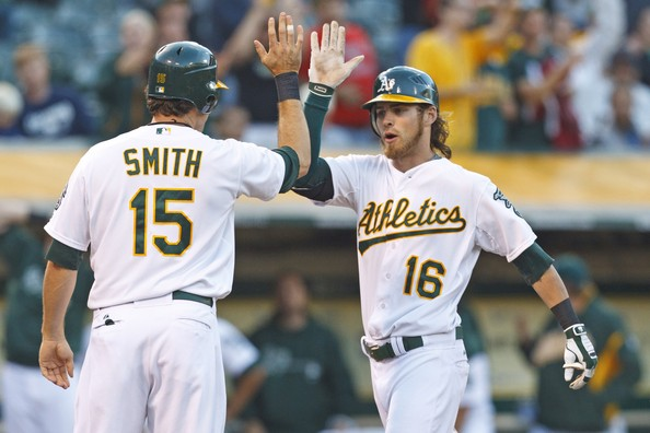 With Cespedes (23 HRs)and Reddick (32 HRs) anchoring the middle of the lineup last year in the 2nd half - the Athletics belted an MLB Leading 112 Round Trippers after the ALL - Star Game.  Many players clubbed the long - ball despite limited AB in the lineup.  They also finished 3rd in the Major Leagues for the whole season on the road.  This is bad news for teams in the AL West.  The team looks to duplicate their incredible second half of power into a full season in 2013.