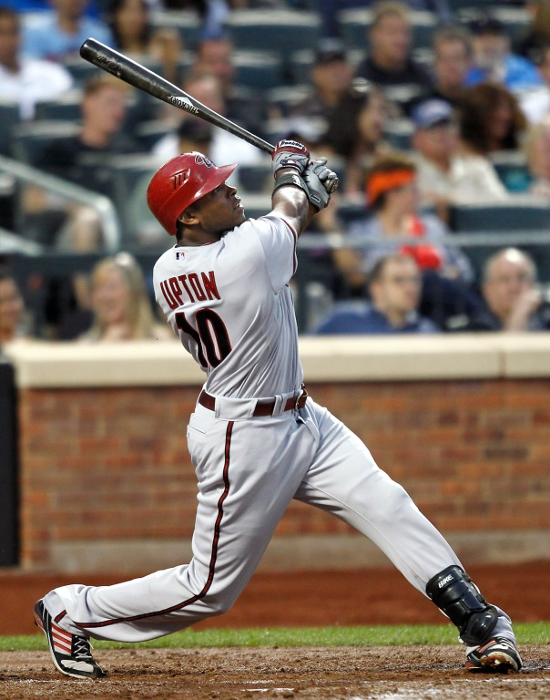 Justin Upton leaves Arizona on a down year after finishing 2012 with .280/.355/.430 slash line and only 17 HRs.