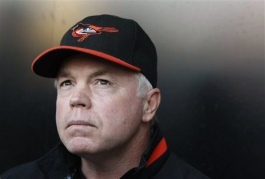 Buck Showalter may finally break the curse of his previous managerial jobs - where his teams become stagnant after a few years of him being the clubs skipper.  Baltimore is 48 - 37 and sit in 2nd Place in the AL East - and would currently be the 2nd Wild Card team in the American League.  Not bad for a team Vegas said was only going to win 78 games this year!