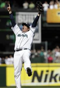 Felix Hernanzed threw a Perfect Game versus the Tampa Bay Rays on Aug.15/2012.  It was the 23rd in MLB history.  Hernandez was 4-1 with a 1.65 ERA and pitched 49.1 IP in just 6 starts.  Hernandez has 5 Shutouts this year