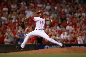 In his 68 Appearances in 2012, Chapman fanned 122 hitters in just 71.2 IP for a K Rate of 15.3 Per 9 IP.  He has Struckout 212 batters in 135.0 IP for his career - with a record of 11-8 and a 2.33 ERA.