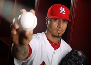 Kyle Lohse was 55-35 (.611) during the last 5 years for the St. Louis Cardinals.  He also is a playoff veteran having pitched in 6 playoff series in the last 2 years.