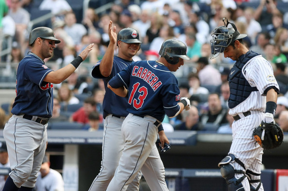 Asdrubal Cabrera could fetch the Indians a nice lot of youngsters near the 2014 Trade Deadline. The Indians will not let the man walk in 2014 without receiving compensation for him. Cabrera also makes $10 MIL this year. He did not have a banner 2013 campaign, hitting for a 3 Slash Line of .244/.299./400 with 14 HRs and 64 RBI, although he added 35 Doubles to his totals.  The 28 Year Old SS has hit .273/.335/.413 and added 2 ALL - Star Appearances and a Silver Slugger Award during his tenure with Cleveland so far.  If the Indians do decide to trade him this year, they have several replacements to take over, albeit not as talented.