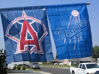 The Los Angeles clubs will surpass the New York Clubs for combined Payroll in 2013.  The Dodgers will spend between 225-250 Million and the Angels will spend in the range from 150-175 Million.  I have predicted a Freeway World Series for 2013 based on the talent for both clubs.  With a slow start for each club (LAA 4 - 10 and  LAD 7 - 8)  Perhaps they should consider trading skippers