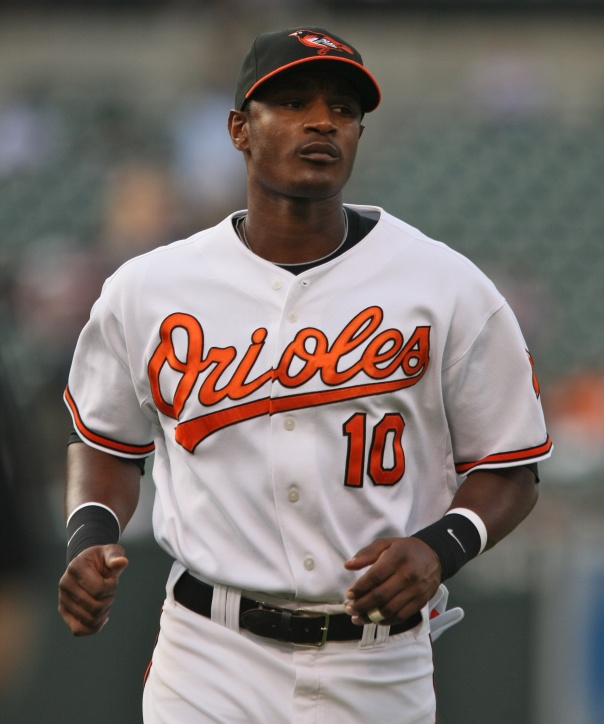 Adam Jones had his 4th straight improved season for overall numbers in 2012 while hitting .287 with 32 HRs, Driving in 82 RBI and scoring 103 Runs. In 2013, he is on pace for a .300 BA - with 31 HRs, 114 RBI and 110 Runs Scored.  He is also on pace for over 200 hits - which is important considering he only has a .322 OBP Having signed a big contract of 6 Year/ 85 Million Dollar Contract recently, he will need to show a steady improvement going forward.