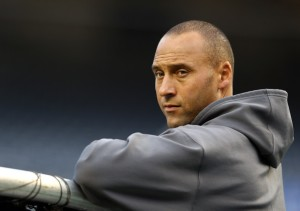 Derek Jeter is leaving a legacy of greatness that would not be curtailed by the teams 1st losing season in over 20 years.  Yes, that would be what would probably happen if they dealt some more veterans away.  But he has 5 World Series Rings in 7 appearances, and he would know the team is setting themselves up for future seasons by doing the move.