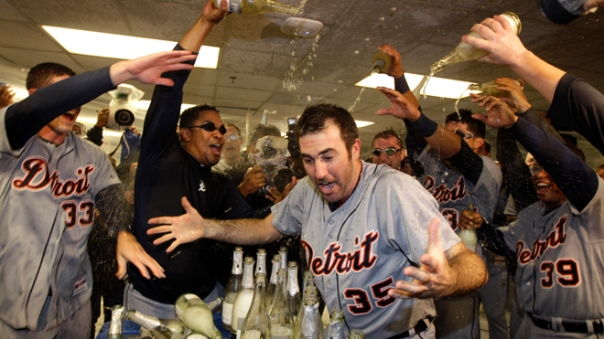 Verlander and his teammates were in the World Series just last year.  He has led the AL in SO (3X), IP (3X), Win PCTG (2x), Wins (2x), SHO (1x).  The Man has made 4 straight ALL - Star Appearances.  In 2011, he won the Triple Crown for Pitchers and also racked up the AL MVP Award - with his 24 - 5 Record and a 2.53 ERA.  He also has had 5 top 7 CY Young Voting Award finishes in the last 7 years.  Verlander would love to improve on his 4.22 Career Post Season ERA staring this year