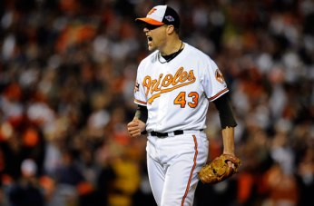 Jim Johnson was a pleasant surprise for the Orioles in 2012.
