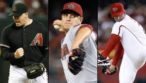 The Diamondbacks worked hard to fix their 2011 bullpen and came into 2012 with a bullpen core of David Hernandez, Brad Ziegler and J.J. Putz.