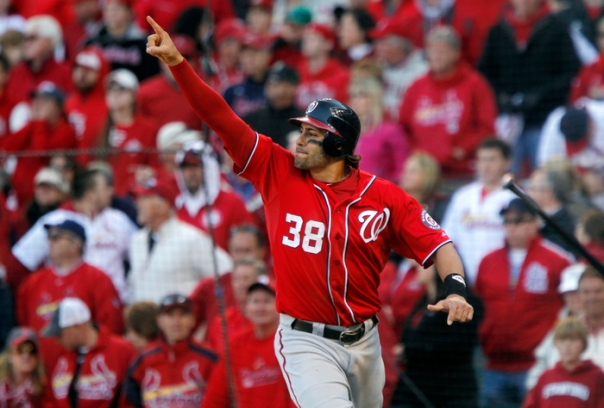 Micheal Morse had his best year in 2011 with the Nationals, where  he hit .303, with 31 HRs and 95 RBI during his  515 AB.  This was his only real full year as a Starting Position Player..  The club has 3 Pitchers in return for his talent.  Morse was acquired by the Nats in 2009 for Josh Willingham.  I would say the Nas did good in this Roster Tree.