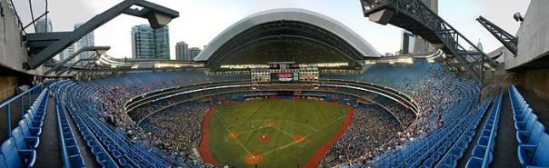 Rogers Home Opener will be on Monday Apr 10, 2017, to kick off the 29th year the ballpark has been playing games there. Last year the Jays drew 3.4 Million Fans. and that is the biggest total since the World Series Years - or the 1st 5 years of the venue.