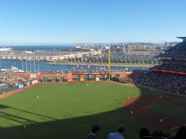AT & T Park saw the most runs for a home team scoring in their opener.  This stadium is often referred to as the top ballpark rated among all of those fans to have seen all 30 MLB Parks. They beat their Division rival the Dodgers 12 - 6 on Apr 7, 2016.