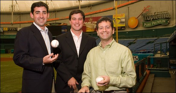 The Rays Management has been a lot better under the tutelage of the these 3 gentleman.  It is too bad that cant secure an MLB Park with the amount of revenue to pay their great players once they become great.