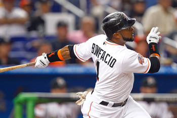 Emilio Bonifacio struggled through injuries in 2012, yet still stole 25 bases in only 244 AB.  The team will need him to try and repeat his 2011 numbers where he was a .296 hitter with a OBP of .329.  If he can't stay healthy for the Jays, the trade will not look so favorable