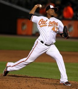 Pedro Strop was 5-2 with a 2.44 ERA in 70 Appearances in relief and 66.1 IP for the  O's.  He was a masterful 1/2 combination with Jim Johnson.  They will need Strop to duplicate his totals in 2013.  He would also be in for a huge pay-raise in 2014 as an Arbitration Eligible Players.