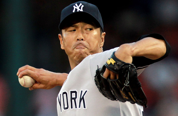 Hiroki Kuroda has thrown better over the last few weeks - after a slow start to the 2014 year.  Before the season, the 39 Year Old RHP inked a deal for 1 YR/$16 MIL.  Perhaps the Dodgers would come calling for a trade for this man considering Josh Beckett has been plagued with injuries the last few years.  The Pinstripers could take back a player OF like Scott Van Slyke or maybe a Stephen Fife to add to the Starting Rotation,