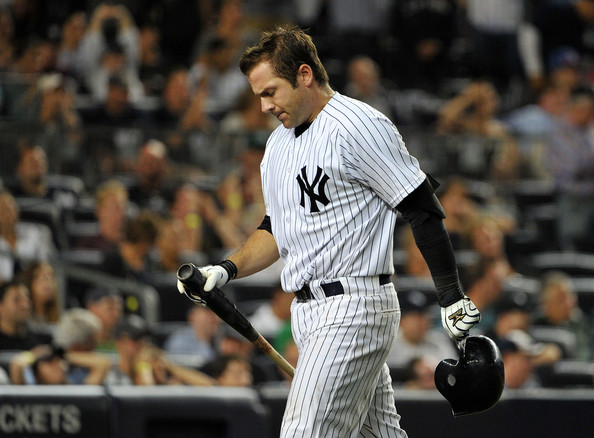 Austin Romine's bat has been far behind the rest of his development at the position.  With the signing of McCann, this may actually solidify his position to be the #2 Catcher.  Romine actually hit for a second half 3 Slash Line of .273/.343/.750 in 68 AB.  If he can keep that kind of production up, the team may very well elect to DH McCann a little more often.