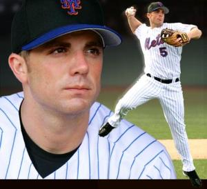 A Young David  Wright.