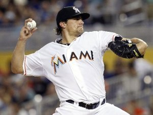 Nate Eovaldi had a 3.39 ERA for the Marlins in 18 Game Starts. during last year.  He has flamethrower stuff - and may turn out to be a nice middle of the rotation starter.  Eovaldi was picked up in the Hanley Ramirez trade in 2012.  Eovaldi's biggest strength last season was his fastball velocity, which sat at 96.1 MPH.  I don't want to understate how important fastball velocity can be, but it is not necessarily a sole determining factor in a player's success.
