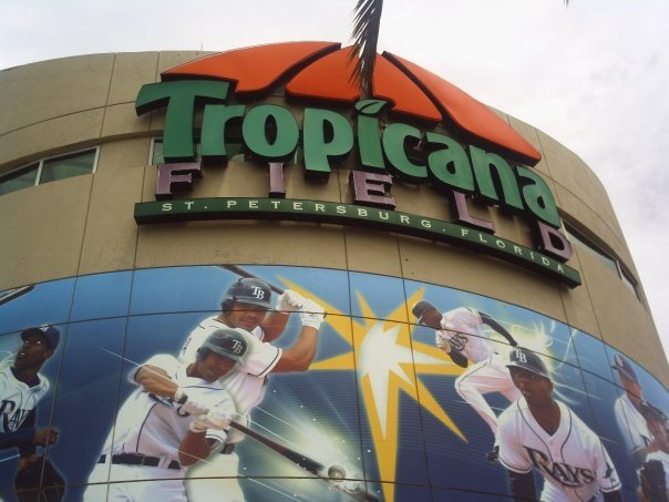 Tropicana Field has been the only MLB Park for the Rays.  Unfortunately the club has a lease that runs through the year 2027.  There have been several talks of a downtown Tampa Stadium right off of Highway 4. All have plans have been derailed