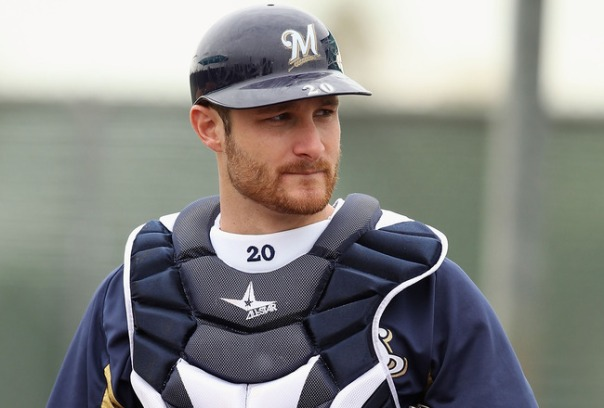 Jonathan Lucroy was hitting .345 with 5 HRs and 30 RBI in his 43 Games before breaking his hand is a weirdly described luggage accident.  Lucroy can be a difference maker with his offense at the catchers position going forward