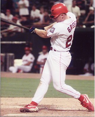 Rusty Greer hit over .300+ for a Batting Average in 5 of his 1st 6 years.  The Left Handed Batter also collected 3 100-RBI seasons and 3 100 Run Seasons.  He has a Career 3 Slash Line of .305/.387.865 and finished in 3rd for Rookie Of The Year Voting in the 1994 Strike shortened year.