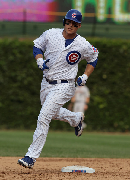Rizzo followed up his  short 2012 campaign, in which he hit .285 with 15 HR and 48 RBI with a lower Slash line of .233/.323/.742 - but still clubbed 23 HRs and added 80 RBI. If he maximizes his potential, you are looking at a perennial threat each year to lead the NL in HRs.  Rizzo was traded from the Padres for Andrew Cashner, and it was the 3rd time Jed Hoyer had acquired the guy in his management life.  The team signed him to a 7 YR/$41 MIL extension this year, that will see him in until at least 2019, and potentially til 2021.