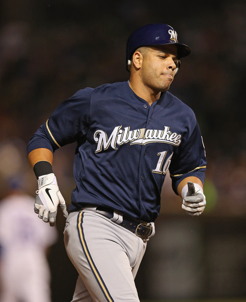 Ramirez had 786 Extra Base Hits by the age of 34 - including 80 l in 2012 (1st in the NL). but managed another 30 XBH this past year.  However the long time veteran has been battling knee problems for years, and it sidelined him for 70 games during the 2013 season.  The Brew Crew desperately needs a healthy campaign in 2014 out of him, as he is the highest paid player of the club at $16 MIL next year.