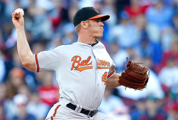 Orioles #1 prospect, Right-Handed pitcher Dylan Bundy.  If he can somehow come up in May and started pitching at the top of the rotation, it may reprieve of the club making a trade for an ace or #1 Starter at the Trade Deadline.