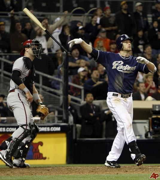 Headley led the NL with 115 RBI in 2012 amongst 31 HRs, he will need to put up monster numbers for the Padres to compete with the LA Dodgers going forward.  Headley caaptured a Gold Glove Award and Silver Slugger in 2012. He ended up finishing 5th in NL MVP voting.  He hit 23 HRs and 73 RBI in just 75 Games after the 2012 ALL-Star Game.. Chase Headley actually fared well at Petco Park in 2012 - with a 3 Slash Line of .272/.357/.812.  He added 13 HRs and 51 RBI.  He could potentially hit a few more out with the fences drawn in.