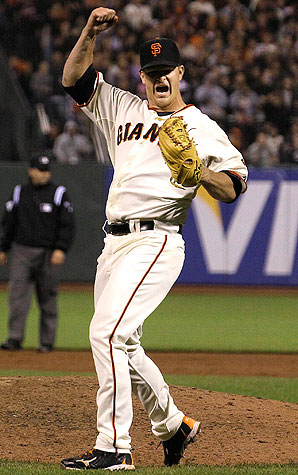 Matt Cain etched his name into history in 2012 with a perfect game on June 14. He went 16-5 with a very impressive 2.79 ERA. He started all of the clinching games in the playoffs getting wins in 2 of them. 2012 was a career year for Cain.