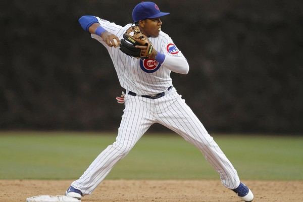 Starlin Castro is signed through the 2020 season for the franchise.  At just 23 Years Old - he has already racked up 587 Base Hits in 495 Career Games.  The man from the Dominican Republic has seen a regression from his 2011 year (OPS of .773), to 2012 (.753 OPS) to a 2013 clip of .685.  The Shortstop must learn some plate discipline.