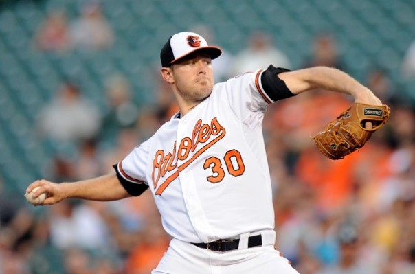 Chris Tillman went 9-3, with a 2.93 ERA in 15 GS during the 2013.  His return helped sparked the Orioles on a 2nd half run to a Wild Card Spot in the AL