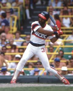 Harold Baines had 3 stints with the Chicago White Sox