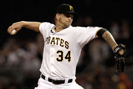 A.J.  Burnett authored a  26 - 21, with a 3.41 ERA  in the last 2 years for Pittsburgh - and gave the Bucs a veteran presence. His price point was simply too much for what the Pirates could spend.  The Phillies will pay the 37 Year Old RHP $15 MIL for 2014, with a $1 MIL Buyout for a 2015 Team Option of $15 MIL.  If Philadelphia does forego the Option, than Burnett can exercise a salary of $7.5 MIL in 2015 from Philly or just become a Free Agent outright (accepting the $1 MIL.)