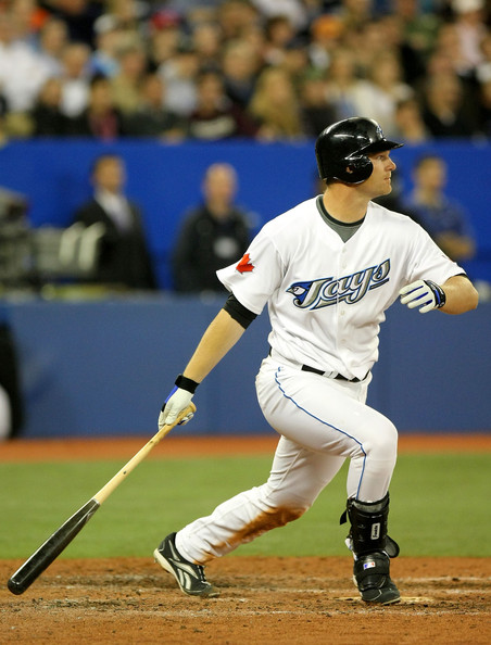 Adam Lind better hope he continue his strong second half in 2012 for the Jays, where he hit.304 with 4 HRs and 25 RBI in 161 AB after his recall from Las Vegas.  As an AL East Contender, the Jays can't afford any struggles like his 2012 first half.  It could be curtains for a Career if he is sent to the Minors