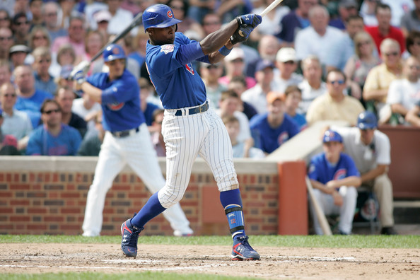 Alfonso Soriano has hit 434 Career HRs in 14 Years and has clubbed 164 of them with Chicago over the last 6 years.  He is on the 7th Year of an 8 YR/136 Million Dollar Contract.  He has made 2 ALL-Star Appearances with the Cubs.