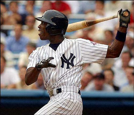 Even better than his 40/40 year in 2006, was a narrow miss of that mark in 2002 with the Yankees, where The ALL-Star Soriano had 39 HRs, 102 RBI, 41 SB (Led AL) , had 209 Hits (Led AL), 696 AB (Led AL) 741 PAs (Led AL) and 129 Runs (Led AL).  He finished in 3rd of AL MVP Voting and took home a Silver Slugger Award during for his efforts.