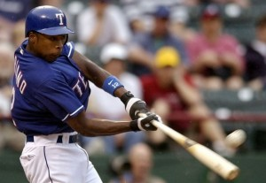 Alfonso Soriano hit 64 HRs, drove in 195 RBI and had 48 SB in his two years in Texas after being traded for Alex Rodriguuez