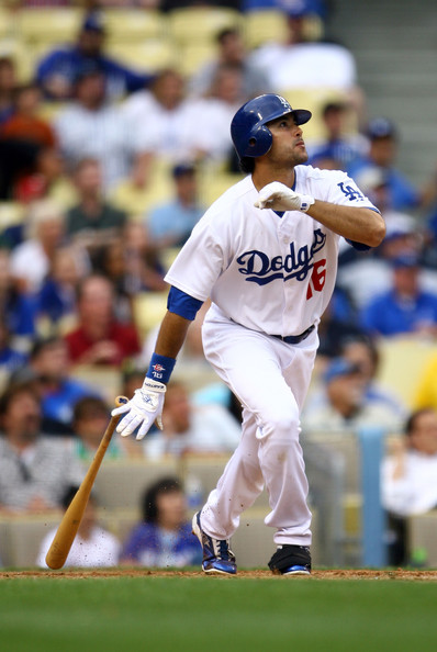 Andre Ethier finished 6th in NL MVP Voting during the 2009 season. It has been his best year to date. He hit 31 HRs, added 106 RBI, 76 XBH Overall and scored 92 Runs.  He won a Silver Slugger Award for his efforts.