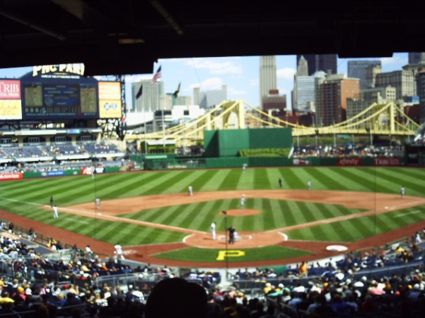 PNC is rated highly amongst Ball Park Chasers.  As a destination point for a lot of them, it is nice that the Pirates post their start times earlier than most clubs - and put their tickets up for sale quicker than most teams as well.