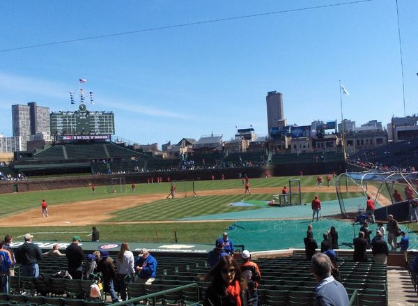 Wrigley Field might just be the best place just to watch a baseball game (Fenway Park rivals it for entire ballpark experience).  AT &T Park and PNC Psrk usually round out the top 4 Parks