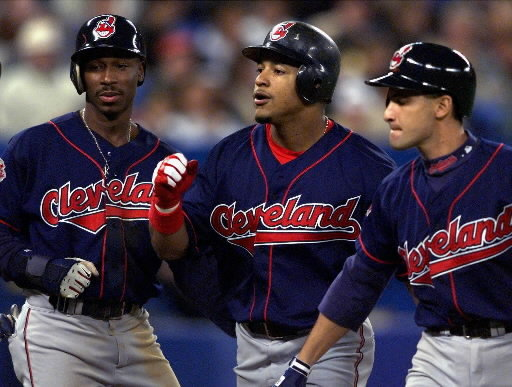 the 1999 Cleveland Indians had 5 guys with 100 Runs Scored and 4 guys with 100+ RBI.  Ramirez was the best RBI man in the game.  Thome was a WALK/HR and RBI machine.  Alomar Scored 138 Runs and Drove in 120 RBI.  Lofton scored 110 runs and hit .301