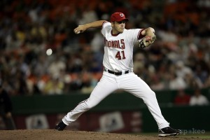 Shawn Hill's best year as a starter was in 2007, where he went 4-5, with a 3.42 ERA and WHIP of 1.146 in 16 GS and 97.1 IP.
