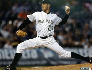 Jeff Francis was signed last year mid -summer, in order to help the team with depth.  While he has never found the success he had during the 2007 year again, he is 2nd in most franchise Pitching Categories.  Much like other chuckers, he also struggled once he left Denver the 1st time