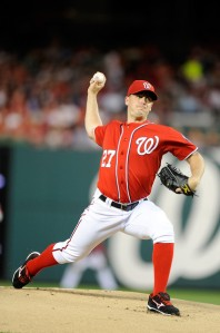 Jordan Zimmermann is a great pitcher and has done, and will continue to do, good things for the Nationals. He is a very important part of the 2014 roster, but he may not be a part of the 2015 or 2016 roster. The Nationals have other options. They can lose him and continue to win. They can even trade him and get better. I would argue that the prospects the Nationals would receive in a Jordan Zimmermann trade plus Max Scherzer or James Shields in the rotation would be an upgrade to both the farm system and the rotation. If Jordan Zimmermann will sign an extension that is great, but with him seeking his free agent value it is starting to look like the Nationals.  Washington is lucky to have had 2 successful restarts on careers for the TJ Surgery like they have had with Zimmermann and Strasburg.