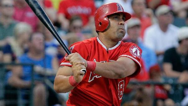 Kendrys Morales had a breakout year with the Angels in 2009, where he he hit .306 with 34 HRs and 108 RBI.  He also clubbed 43 Doubles and carried an OPS of .924 for the year which propelled him to a top 5 AL MVP Finish.