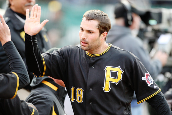 Neil Walker has hit for a Career 3 Slash Line of - .273/.339/.423 in 5 years, with an average of 16 HRs. 80 RBI and 35 - 2B's per 162 Games. This is above average for a Second Baseman. He broke up a 0 - 0 score in extra innings during the home opener at PNC Park, with a solo Walk Off HR.