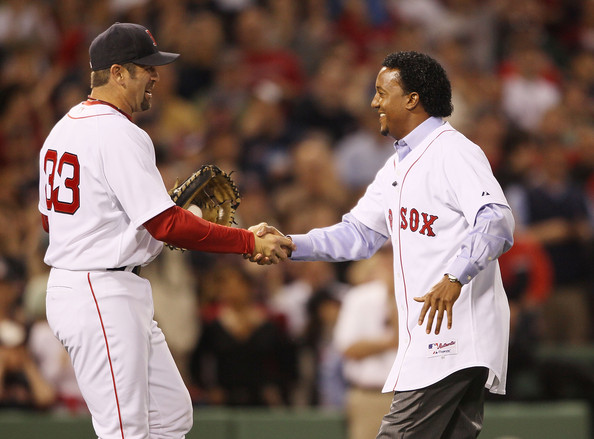 Pedro Martinez was an incredible 117-37 (.760) with a 2.52 ERA (during the Steroid era tough AL East) with 3 AL Cy Young's and 4 other top 4 finishes in his 8 years with the Red Sox.  He won the World Series with the BoSox in 2004.
